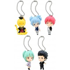 01-92232  Assassination Classroom Mini Figure Mascot Key Chain Swing  1st hour 300y
