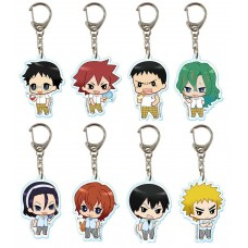 01-97039 Bandai YowaMushi Pedal Grande Road In Summer Capsule Clear Key Chain - 300y