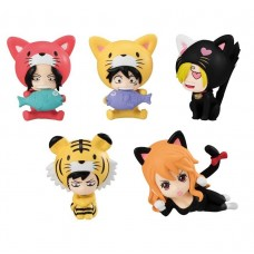 01-10998 TV Animation One Piece Nyan Piece Mini Figure  Mascot 300y