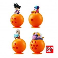 01-22787 Bandai Dragon Ball Super Nokari Ride On Mini Figure Collection 300y - Set of 4