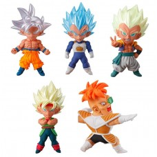 01-27113 Dragon Ball Super Ultimate Deformed Mascot UDM Burst 34 200y - Set of 5
