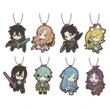 01-29193 Sword Art Online SAO Capsule Rubber Mascot 01  300y