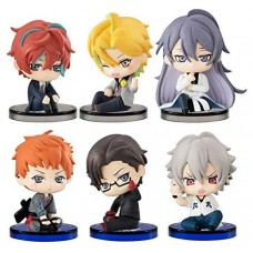 01-36099 Hypnosis Mic Division Rap Battle Temporary Truce  Suwarasetai Sitting Mini Figure Collection 400y