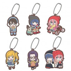 01-37069 Yuru Camp Capsule Rubber Mascot Vol. 2 300y