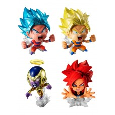 01-37119 DragonBall Super Warrior Capsule Mini Figure Pt 01 300y