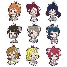 01-37701 Love Live! Sunshine !! School Idol Project Capsule Rubber Mascot Vol. 15 300y