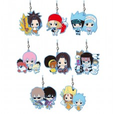 01-37757 Shaman King Capsule Rubber Mascot Strap Part 3 300y