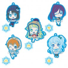 01-35180 Bang Dream Hello Happy World Capsule Rubber Mascot Strap Vol.2 300y