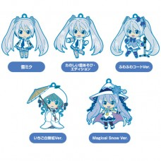 01-95337 Vocaloid Hatsune Miku Snow Miku Nendoroid Plus Capsule Rubber Mascot Pt 01 300y