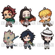 01-16028 Demon Slayer: Kimetsu no Yaiba Capsule Rubber Mascot Strap 300y