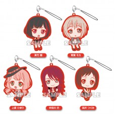 01-71799 Bang Dream! Girls Band Party! Capsule Rubber Mascot Strap Afterglow Ver. 300y