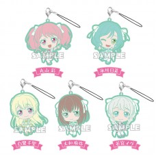 01-71800 Bang Dream! Girls Band Party! Capsule Rubber Strap Pastel Palettes Ver. 300y