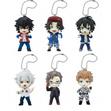 01-87512 Hypnosis Mic Division Rap Battle Deformed Mini Ikebukuro Division Yokohama Division Mini Figure Mascot 300y - Set of 6