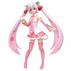 01-30956 Vocaloid Hatsune Miku Super Premium PVC Figure Sakura Cherry Blossom