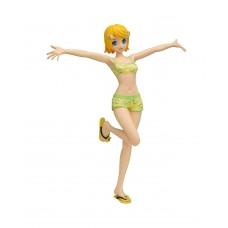 01-33373 Vocaloid Project Diva Arcade Future Tone Premium PVC Figure Kagamine Rin Miracle Star Resort Swimsuit Version