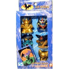 01-10070 Yutaka Go Nagai Collection Mazinger Devilman SD Figure Set