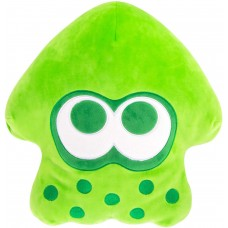 T12749 Club Mocchi Mocchi- Splatoon 2 Mega Neon Green Squid Plush Stuffed Toy