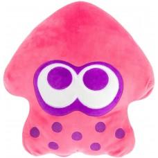 T12999 Club Mocchi Mocchi- Splatoon 2 Mega Neon Pink Squid Plush Stuffed Toy