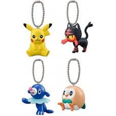 02-11467 Pokemon Sun & Moon Pocket Monsters Mini Figure Mascot Swing Key Chain 200y