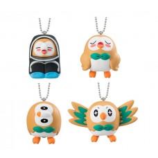 02-18007 Pocket Monster Pokemon  Sun & Moon Satoshi no Mokuroh (Rowlet) Daisuki Figure Mascot Collection 200y