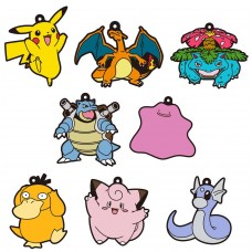 01-18225 Pokemon Sun & Moon Capsule Rubber Mascot  Pt. 4  300y