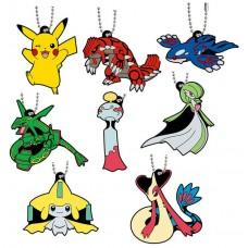 02-24719 Pocket Monster Pokemon Sun & Moon The Movie Capsule Rubber Mascot  Part 8 300y