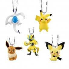 02-27125 Bandai Pokémon the Movie: Everyone's Story Mascot / Swing Keychain  300y