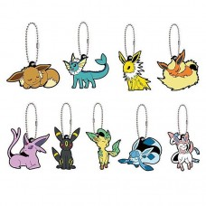 01-36243 Pokemon Sleeping Eevee Evolution Special Capsule Rubber Mascot Ver. 2 300y