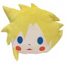 """02-47400 Final Fantasy All Stars Cloud Face 16"""" Cushion"""