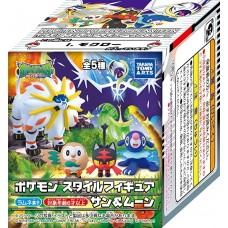 02-10539 Pokemon Sun & Moon - Pokemon Style Figure Sun & Moon 380y