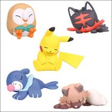 02-85230 Pokemon Sun & Moon Oyasumi Good Night Friends Mini Figure 200y