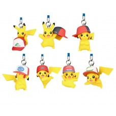 02-85694 Pokemon The Movie 20th Ver: I Choose You!  Mini Figure Mascot Strap 200y