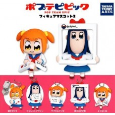 01-86520 Takara TOMY A.R.T.S Pop Team Epic  Poptepipic Figure Mascot 2 300y - Set of 5
