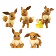02-87021 Pokemon Sun & Moon Eevee Ippai Collection Full Collection 2 200y