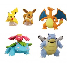 02-87025 Pokemon Kanto Region Ippai Character Collection Mini Figure 300y