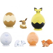02-87444 Pokemon Sun & Moon Egg Pot  Character Capsule Figure 300y