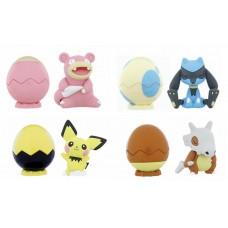 02-88414 Pocket Monster Pokemon Sun & Moon Egg Pot Vol. 2 Character Capsule Figure 300y