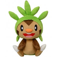 02-49271 Takara TOMY Pokémon Reply Chat Talking Plush - Chespin
