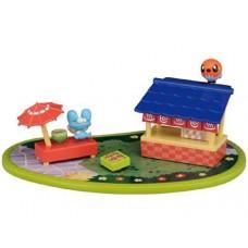 02-80488 Pocket Monsters  XY Pokemon Pita Poke PPM-06 Hot Food Stand - Froakie & Fletchling 2000y