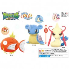 02-38365  Banpresto Pocket Monster Sun & Moon  DX Plush Collection  [PREORDER: MAY 2018]