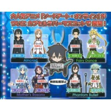 01-29193 Sword Art Online SAO Capsule Rubber Mascot 300y [PREORDER: AUGUST 2018]