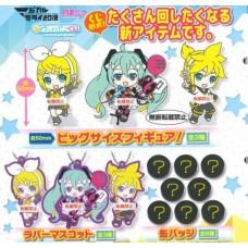 01-29381 Vocaloid Hatsune Miku Capsule Rubber Mascot 300y [PREORDER: AUGUST 2018]