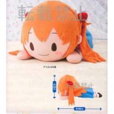 01-28363 Sega Evangelion  MEJ Nesoberi Plush Doll - Asuka Langley