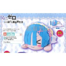 01-29860 RE : ZERO MEJ Nesoberi Plush Doll - REM Demon Angel Ver.  [PREORDER: JANUARY 2019]