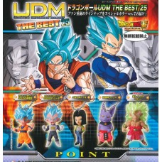 01-24567 Bandai DragonBall Super Ultimate Deformed Mascot (UDM) The Best 25 200y - Set of 5