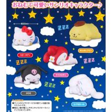 SR-86160 Takara TOMY A.R.T.S Sanrio Characters Oyasumi (Good Night) Mascot 200y