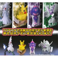 02-86265 Takara TOMY A.R.T.S Pocket Monster Pokemon Sun & Moon Capsule Act 300y - Set of 4