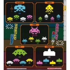 02-86529  Takara TOMY A.R.T.S Space Invaders 40th Anniversary Magnet Gashapon 200y [PREORDER: JUNE 2018]