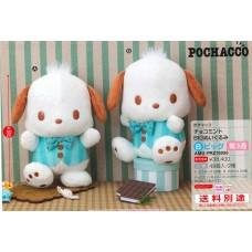 AMU-PRZ10858 Sanrio  Pochacco  Chocolate Mint BIG Plush