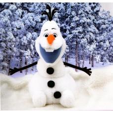 CM-06153 Sega Prize Frozen Olaf Jumbo Plush 35 cm